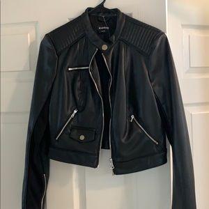 New Bebe leather jacket never worn